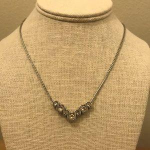 Brighton Reversible V Shape Necklace